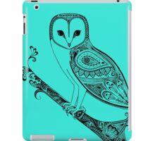 Intricate barn owl iPad Case/Skin