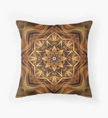 Fractdala 1 Throw Pillow
