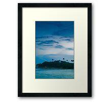 Unawatuna - Sri Lanka Framed Print