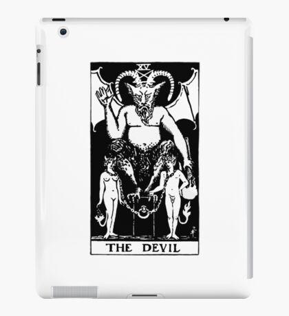THE DEVIL - Tarot Card Design iPad Case/Skin