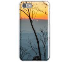 Megalong Sunset (large print) iPhone Case/Skin