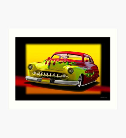 1950 Mercury Custom Coupe II Art Print