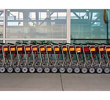 Carts Photographic Print