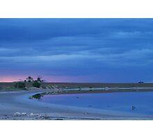 Passing Storm-Southern Yorke Peninsula, South Australia - 1st June 2007 Photographic Print