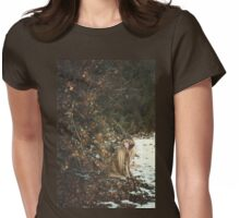 Richness In Winter Womens Fitted T-Shirt