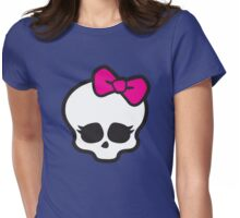 Monster High Skull Womens Fitted T-Shirt
