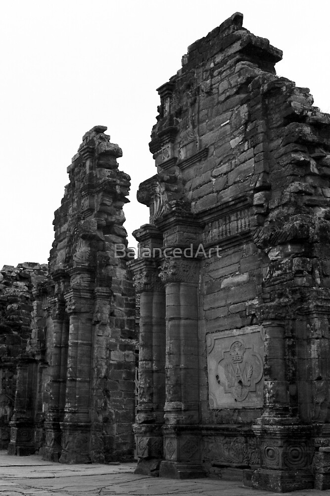 Jesuit Mission San Ignacio, Ruins by BalancedArt