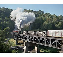 Norfolk & Western #611 - Coopers, WV Photographic Print