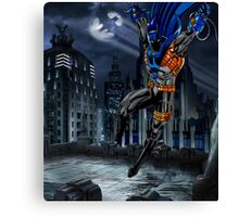 Azrael as the Azbat Canvas Print