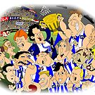 Kangaroos 1996 AFL Premiers by Leigh Canny