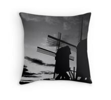 Waiting for the wind Throw Pillow