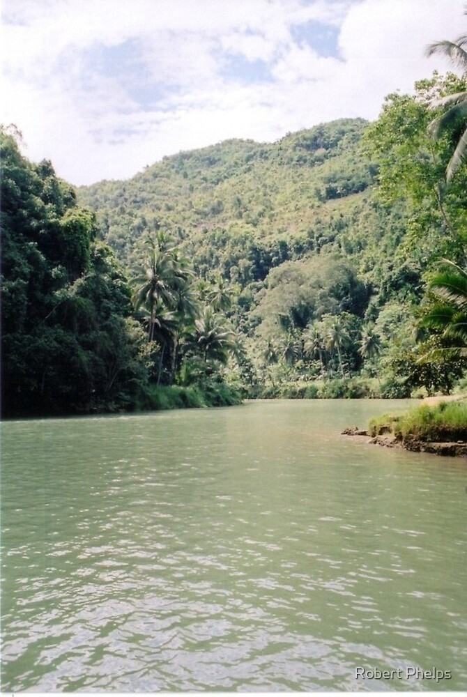 Loboc River - Bohol, Philippines by Robert Phelps
