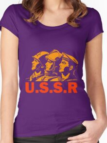 ARMED FORCES Women's Fitted Scoop T-Shirt