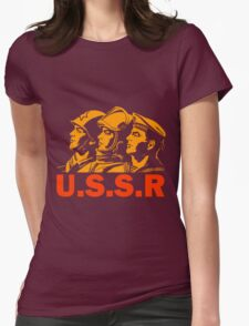 ARMED FORCES Womens Fitted T-Shirt