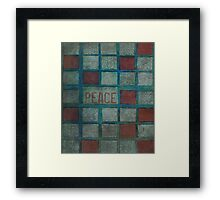 State Of Peace Framed Print