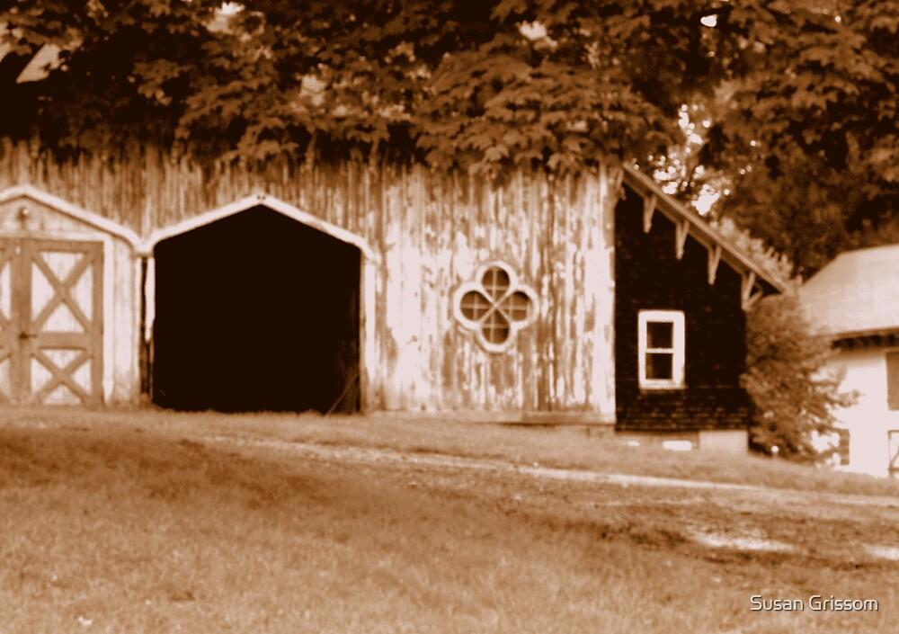 Gothic Barn by Susan Grissom