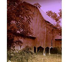 Hudson River Barn Photographic Print