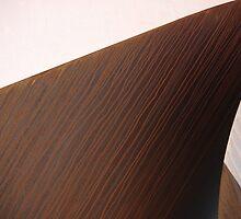 Rusting Sculpture by Tim Allan