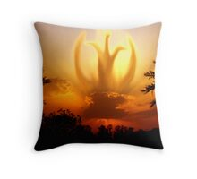God's Transportation Throw Pillow