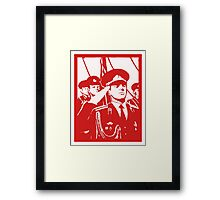 SOVIET SOLDIERS Framed Print