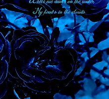 Hues of Blues Haiku by Charldia