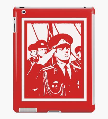 SOVIET SOLDIERS iPad Case/Skin