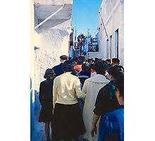 Easter Procession, Mykonos, Greece, 1960 Photographic Print