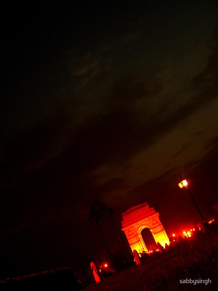 India Gate by sabbysingh