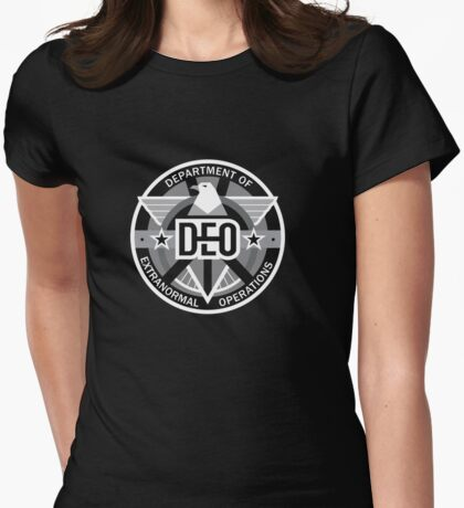 Department of Extranormal Operations Womens Fitted T-Shirt