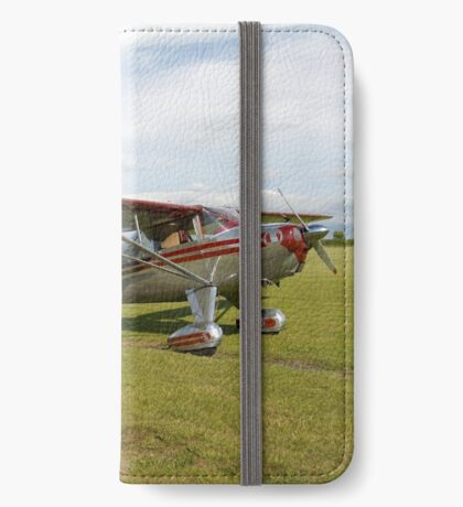 Luscombe , a light aircraft. iPhone Wallet