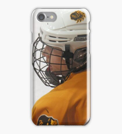 Waiting for Ice Time  iPhone Case/Skin