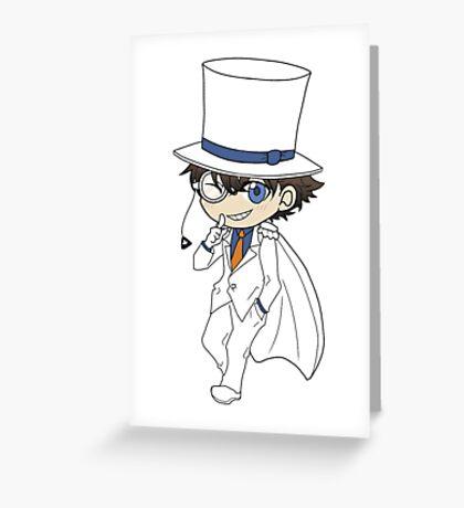 Kaito Kid Chibi Greeting Card