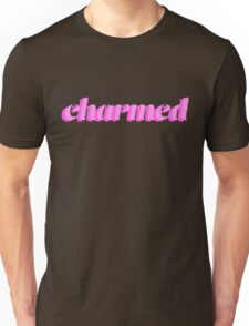 Charmed Pastel Pink Typography Unisex T-Shirt