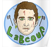 Shia LaBeouf (Actual Cannibal) Poster