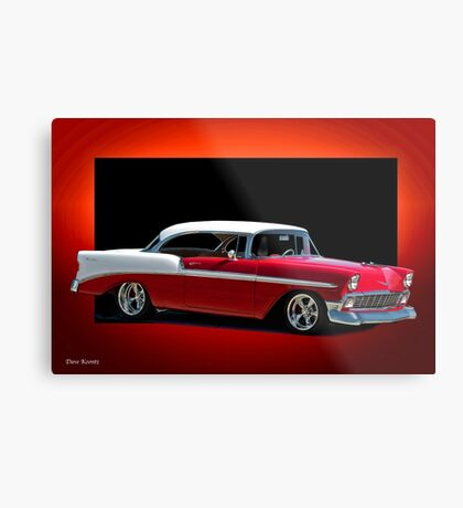 1956 Chevrolet Bel Air Hardtop Metal Print