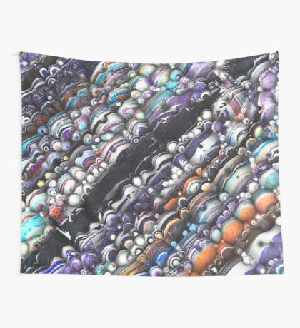 Grunge Spectrum of Textures Wall Tapestry