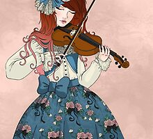 The Violinist by aluminumbunny