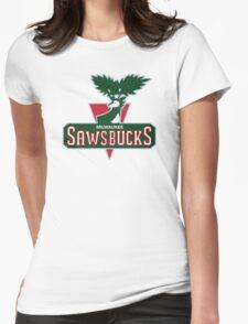 Milwaukee Sawsbucks T-Shirt Womens Fitted T-Shirt