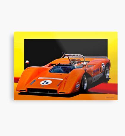 1969 McLaren M8CA Can Am Metal Print