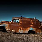 Abandoned 1957 Chevy 3100 Panel by mal-photography