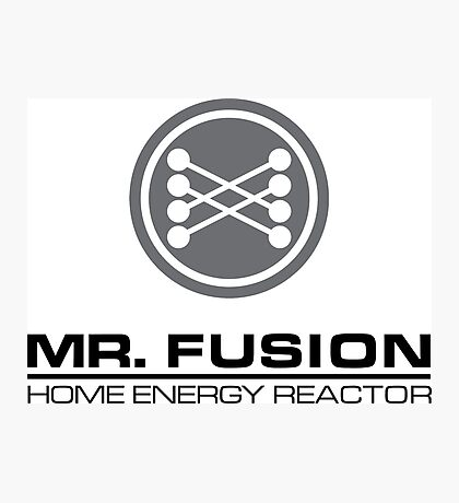 Mr Fusion Home Energy Reactor Photographic Print
