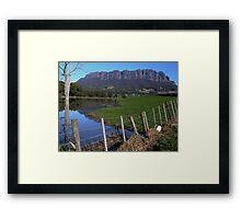 photoj Australia - Tasmania, Mt Roland Framed Print