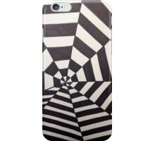 Crooked Optical Illusion iPhone Case/Skin