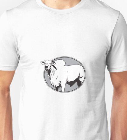 Bull zebu vintage logo Unisex T-Shirt