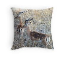 What's Over There Throw Pillow