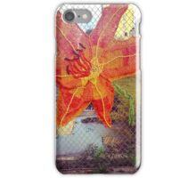 Yarn Art Flower in East Harlem, New York City iPhone Case/Skin