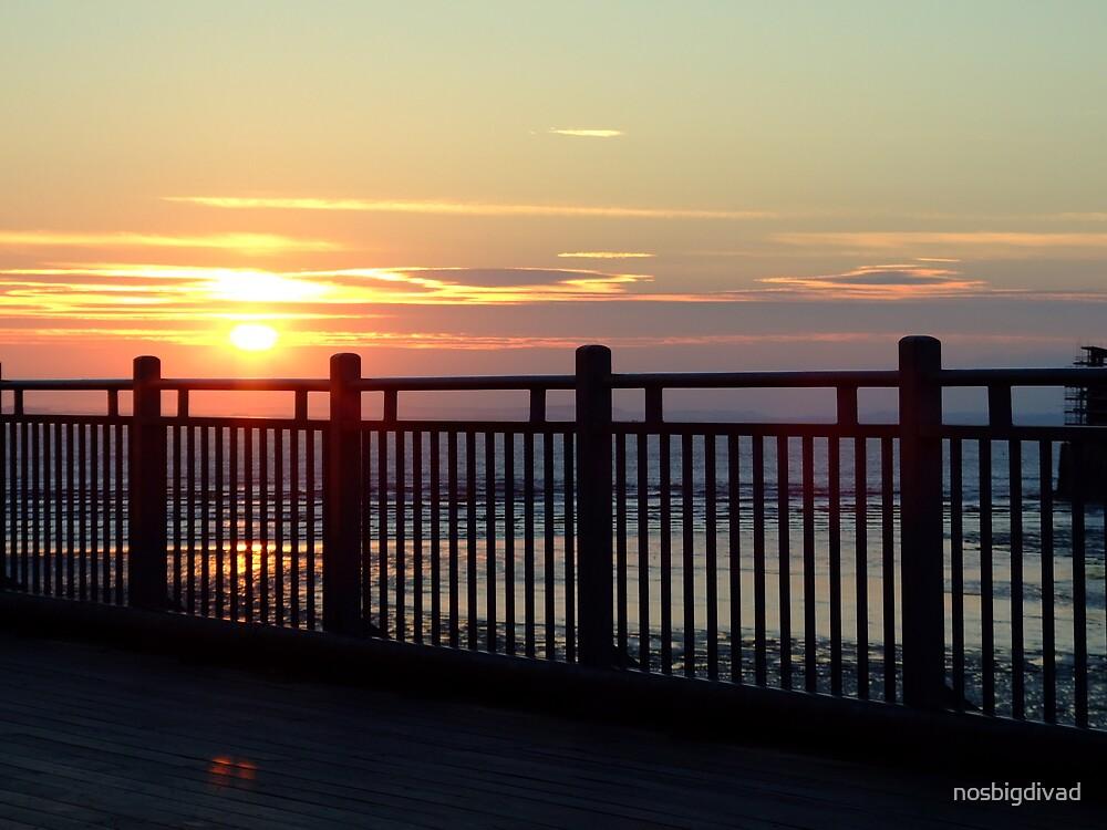 Weston Super Mare Sunset by nosbigdivad