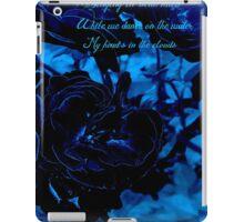 Hues of Blues Haiku iPad Case/Skin