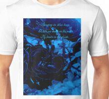 Hues of Blues Haiku Unisex T-Shirt