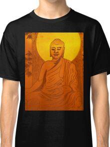 Artwork of Buddha with halo art photo print Classic T-Shirt